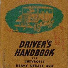 C8A Driver's Handbook