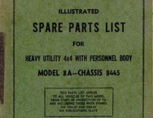 C8A Parts List