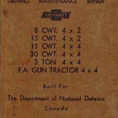 Chevrolet Instruction Book