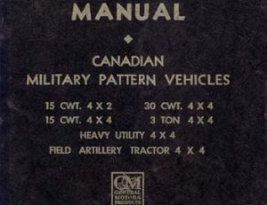 Chevrolet Manual MB - C1
