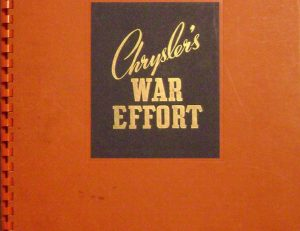 Chrysler's War Effort of Canada