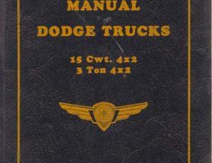 Dodge Canada WM - 4105