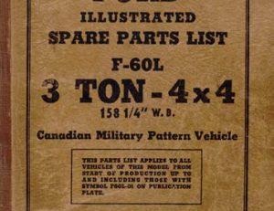 F60L Parts List