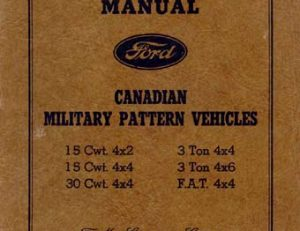 Ford Manual MB - F1