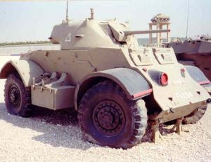 GM Staghound Mk II A.C. Museum Latrun 1997