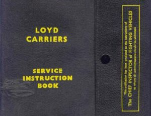 Loyd Carrier Instruction Book