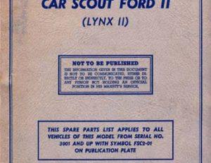 Lynx II Parts List FSC2-01