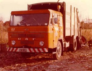 My first garbage truck 1975